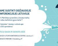 Darbu saugos ir sveikatos konferencija 2020