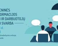 Renginys Skaitmeninės transformacijos iššūkiai ir darbuotojų ugdymo svarba