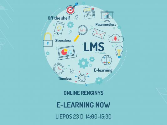 E-learning e-mokymai