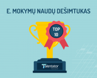 Top10 elektroninių mokymų naudų