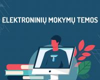 Elektroninių mokymų temos